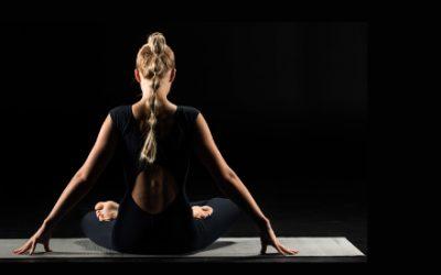 Yoga in the Dark for RNIB Charity Event