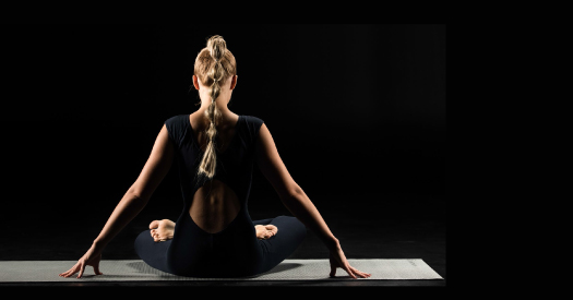 Yoga in the Dark for RNIB Charity Event