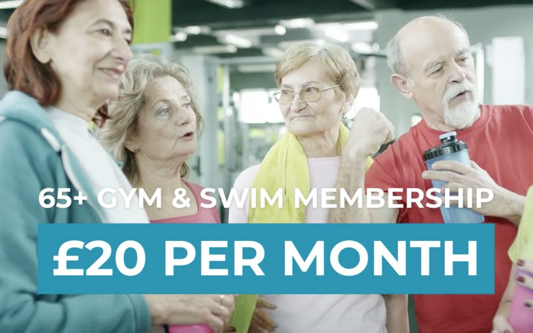 65+ Gym & Swim Membership