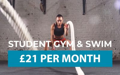 Student Gym, Swim & Skate Membership
