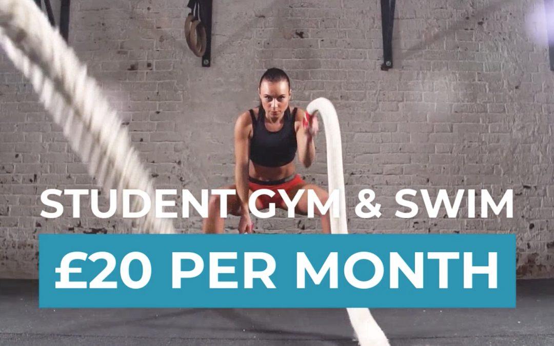 Student Gym, Swim & Skate Membership