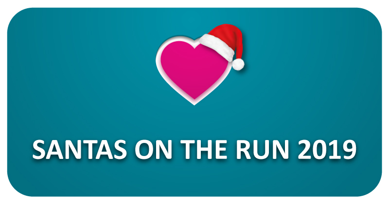 We are supporting the Pilgrims Hospices event, Santas on the Run!